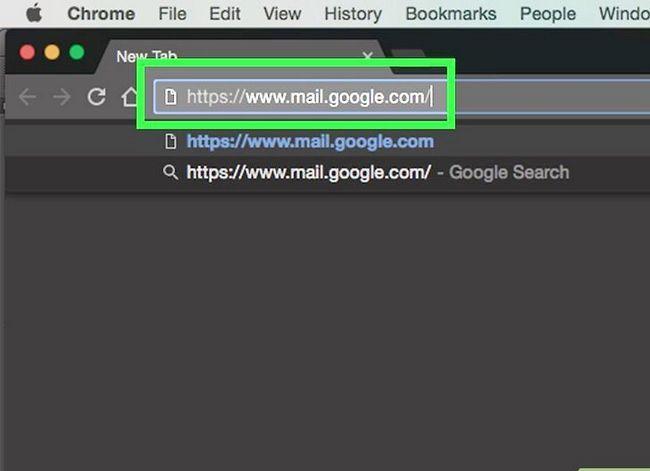 Prent getiteld Verwyder kontakte uit Gmail Stap 1