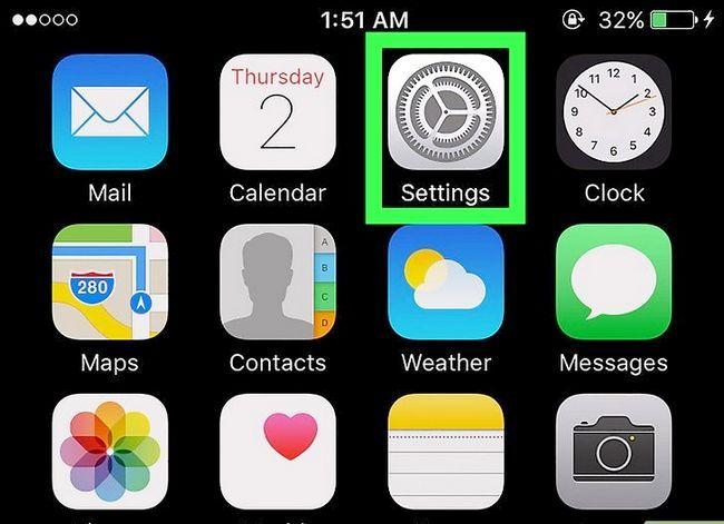 Prent getiteld Verwyder musiek op jou iPhone Stap 1