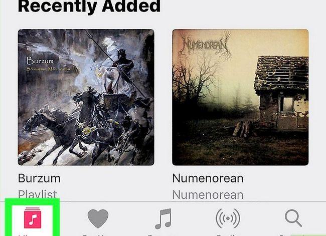 Prent getiteld Verwyder musiek op jou iPhone Stap 12