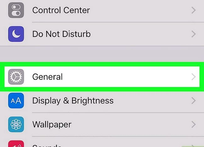 Prent getiteld Verwyder musiek op jou iPhone Stap 2
