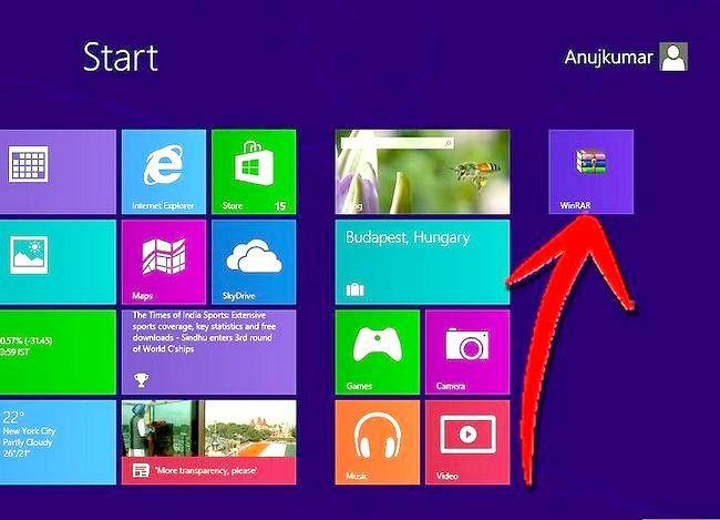 Prent getiteld `n program verwyder op Windows 8 Stap 1