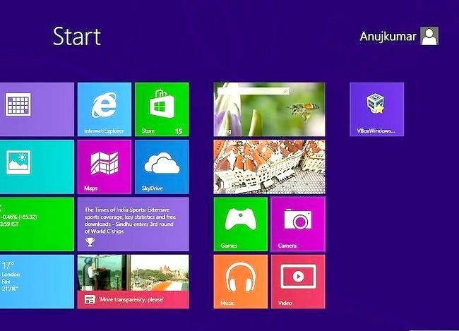 Prent getiteld `n program verwyder op Windows 8 Stap 12