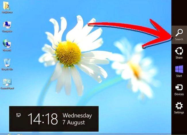 Prent getiteld `n program verwyder op Windows 8 Stap 5