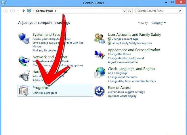 Prent getiteld `n program verwyder op Windows 8 Stap 8
