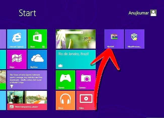 Prent getiteld `n program verwyder op Windows 8 Stap 10
