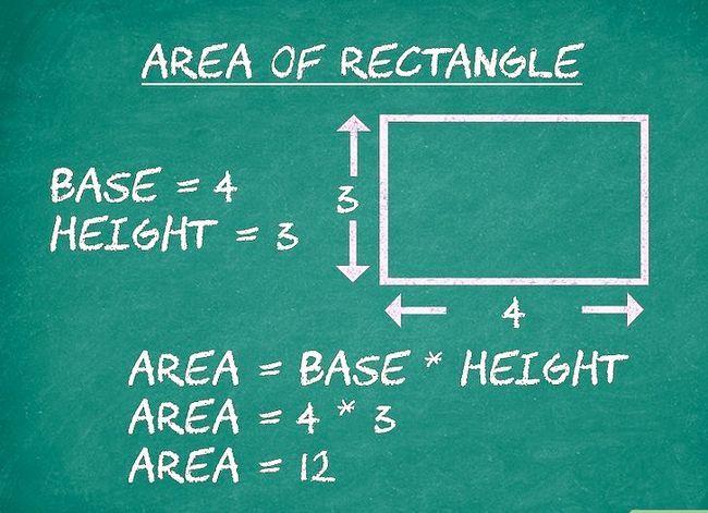 Prent getiteld Bereken die oppervlakte van `n veelhoek Stap 8