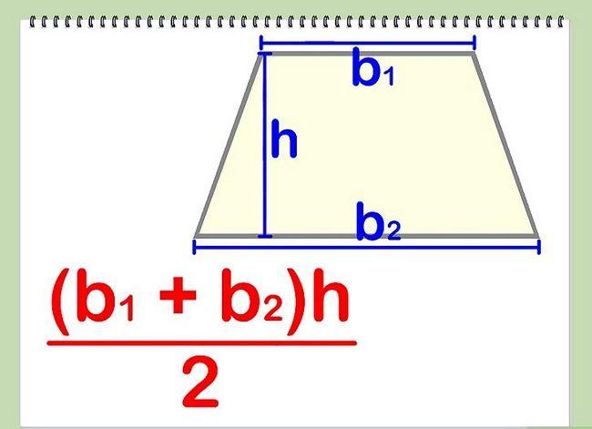 Prent getiteld Bereken die area van `n veelhoek Stap 9