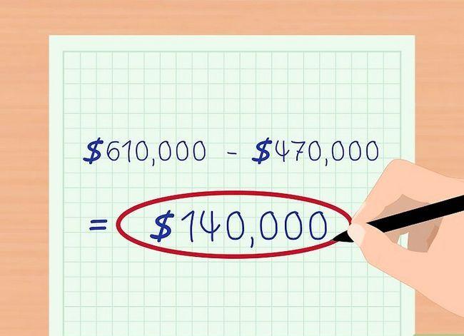Prent getiteld Bereken Aandeelhouers` Equity Step 4