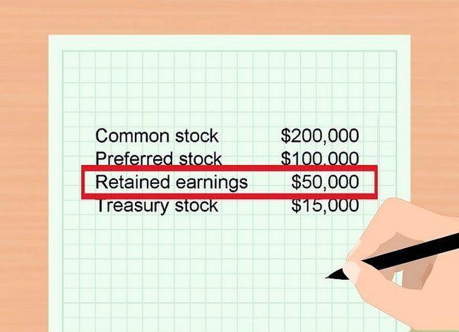 Prent getiteld Bereken Aandeelhouers` Equity Step 7