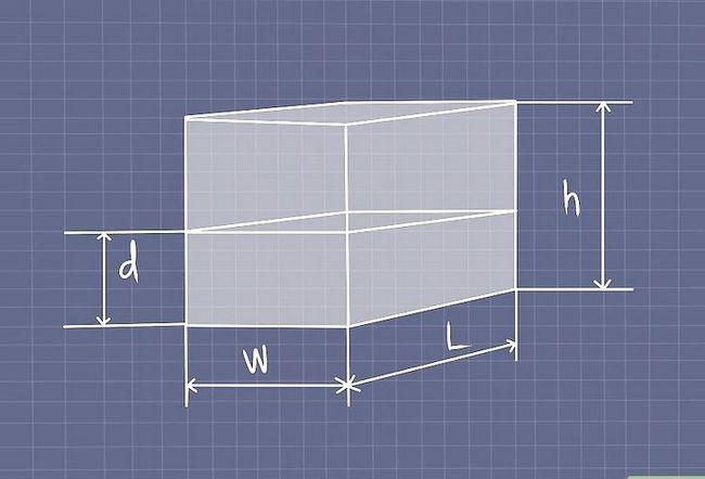 Prent titel Werk uit Water Tenk Kapasiteit Stap 14