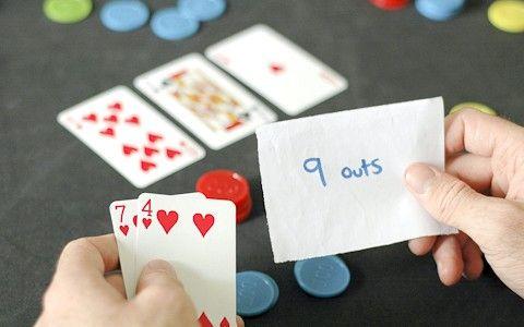 Prent getiteld Bereken Pot en Hand Odds in Limit Hold` width=