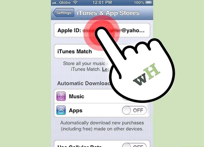 Beeld getiteld Verander iTunes Store Land Streek Stap 11