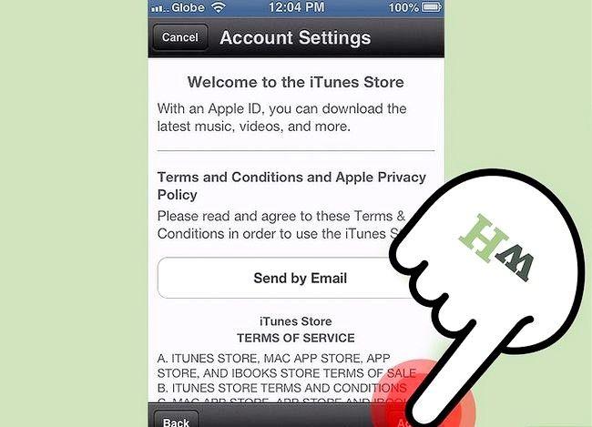 Beeld getiteld Verander iTunes Store Land Streek Stap 16