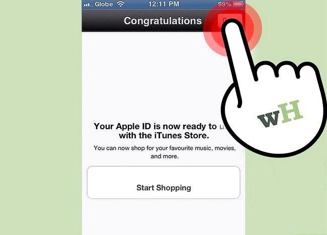 Beeld getiteld Verander iTunes Store Land Streek Stap 18