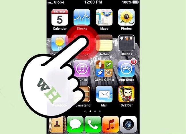 Beeld getiteld Verander iTunes Store Land Streek Stap 9