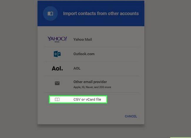 Prent getiteld Skakel van Yahoo! Mail na Gmail Stap 15
