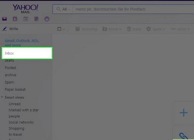 Prent getiteld Skakel van Yahoo! Mail na Gmail Stap 6