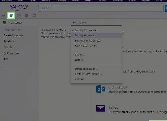 Prent getiteld Skakel van Yahoo! Mail na Gmail Stap 8