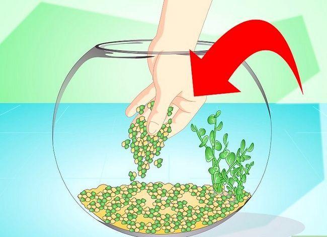 Prent getiteld Verander die water in `n Visbak Stap 10