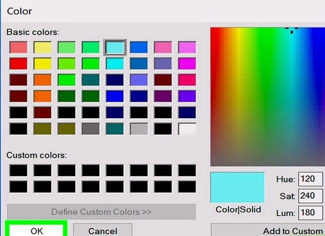 Prent getiteld Verander die agtergrondkleur in Adobe Illustrator Stap 11