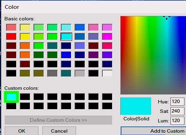 Prent getiteld Verander die agtergrondkleur in Adobe Illustrator Stap 10