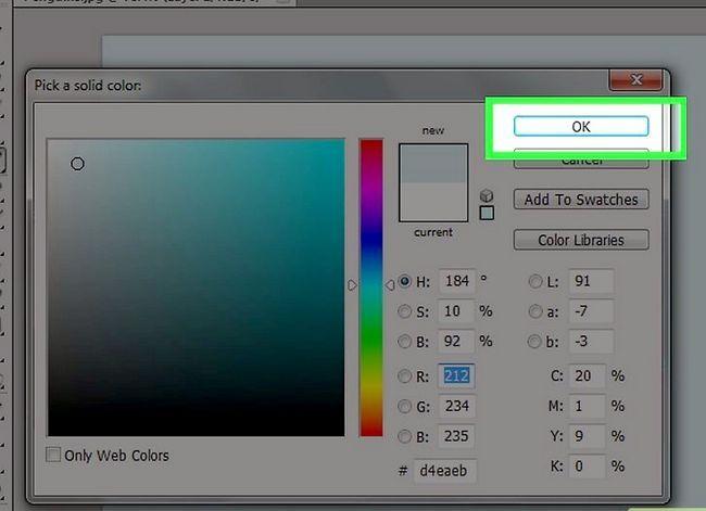 Prent getiteld Verander die agtergrondkleur in Photoshop Stap 19