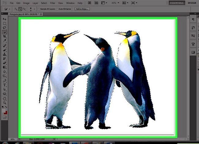 Prent getiteld Verander die agtergrondkleur in Photoshop Stap 31