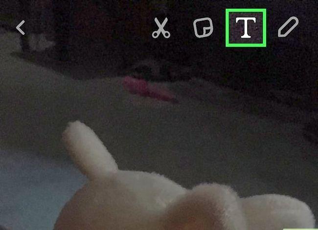 Prent getiteld Verander die kleur van Snapchat-onderskrifte Stap 5