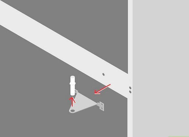 Prent getiteld Verander die kant waarop u yskasdeur oopmaak Stap 7