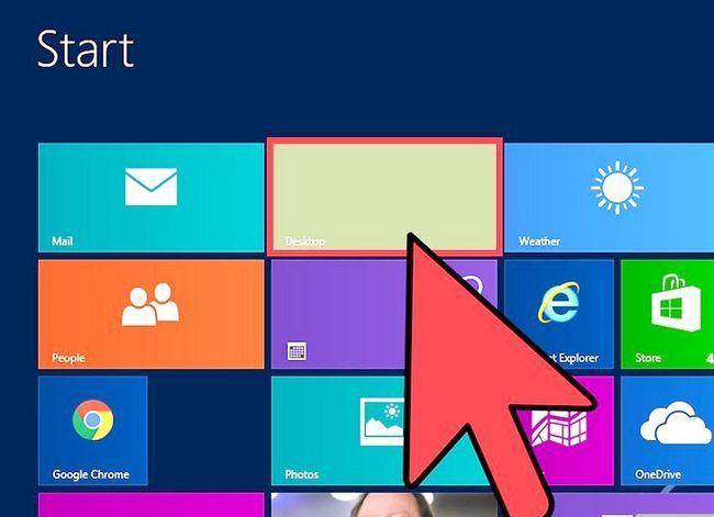 Beeld getiteld Verander die Screensaver in Windows 8 Stap 1