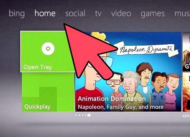Prent getiteld Verander `n Xbox Tema Stap 1