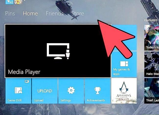 Prent getiteld Verander `n Xbox Tema Stap 11