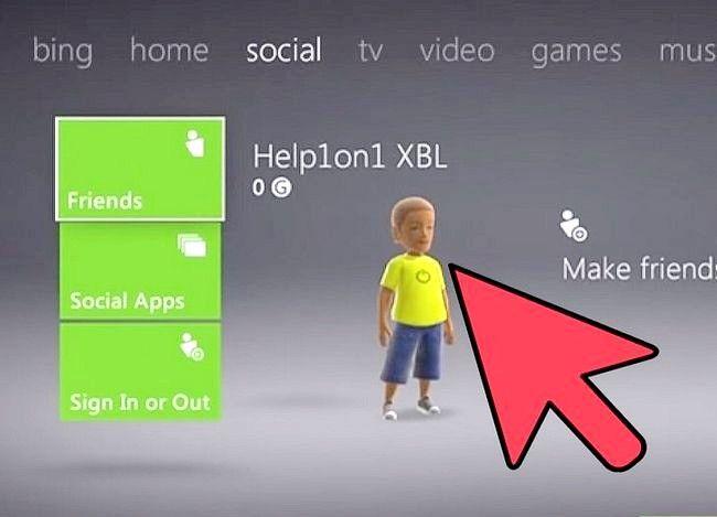 Prent getiteld Verander `n Xbox Tema Stap 2