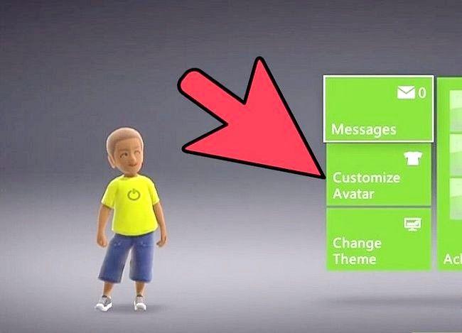 Prent getiteld Verander `n Xbox Tema Stap 3