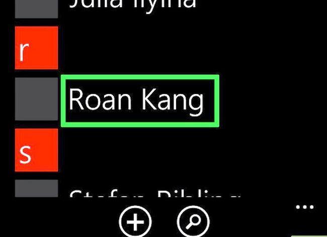 Beeld getiteld `n Ringtoon verander op `n Windows Phone Stap 22