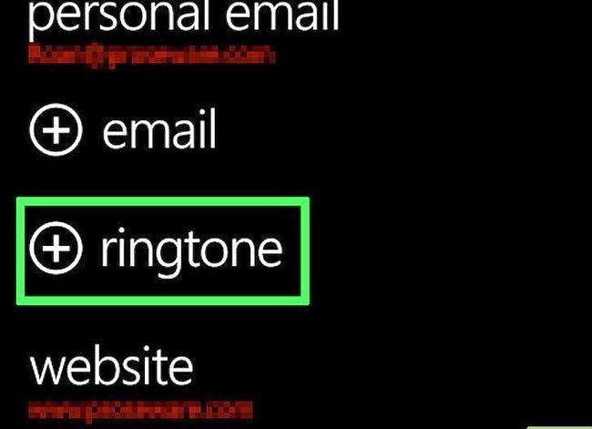 Beeld getiteld `n Ringtoon verander op `n Windows Phone Stap 24