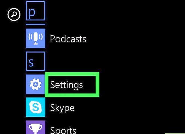 Beeld getiteld `n Ringtoon verander op `n Windows Phone Stap 9