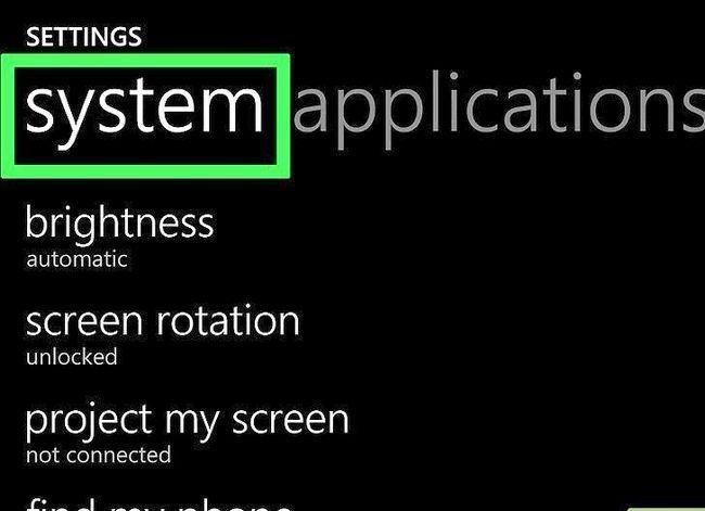 Beeld getiteld `n Ringtoon verander op `n Windows Phone Stap 10