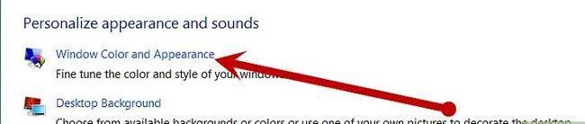Beeld getiteld Verander die kleurskema in Windows Vista Stap 3