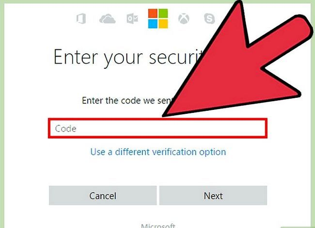 Beeld getiteld Verander Microsoft Outlook Password Stap 17