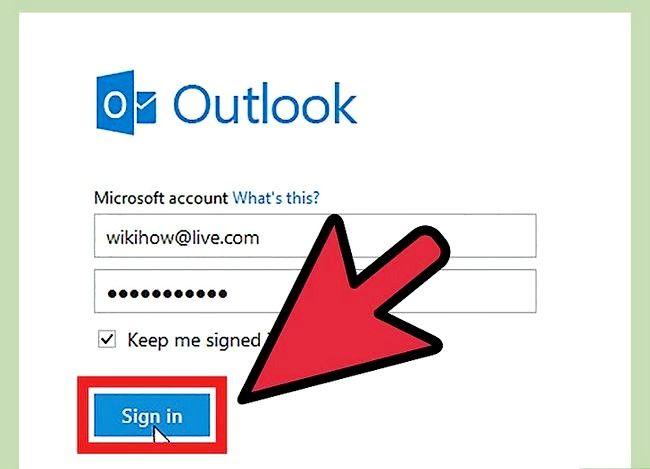 Beeld getiteld Verander `n Hotmail-rekening wagwoord Stap 1