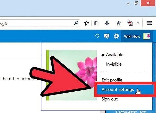Prent getiteld Verander `n Hotmail rekening wagwoord Stap 3