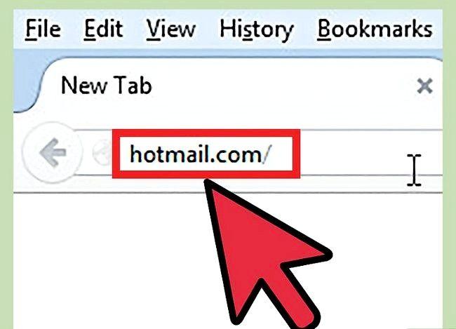 Prent getiteld `n Hotmail-rekening wagwoord verander Stap 8