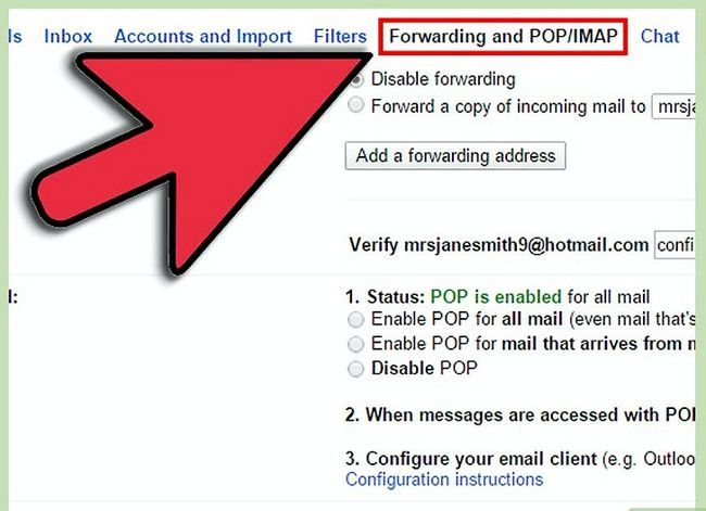 Prent getiteld Verander Gmail-adres Stap 7