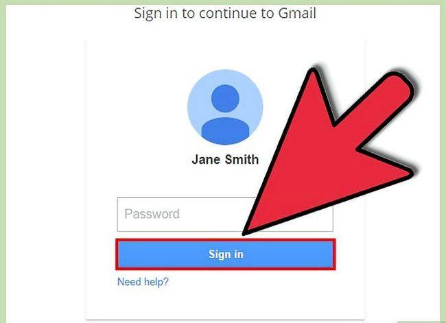 Beeld getiteld Verander Gmail-adres Stap 9