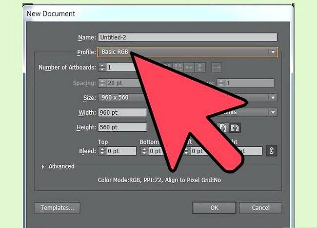 Prent getiteld Verander die verstek skrif in Adobe Illustrator Stap 7