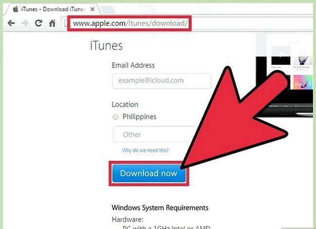 Prent getiteld Verander gemagtigde rekenaars in iTunes Stap 2