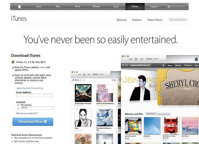 Prent getiteld Verander gemagtigde rekenaars in iTunes Stap 2Bullet1