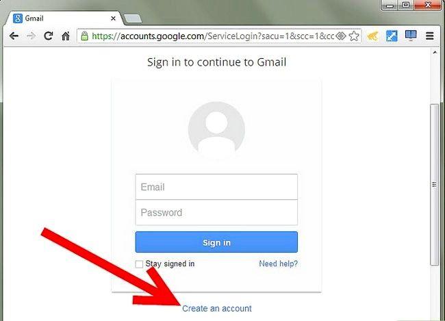 Prent getiteld Skakel E-pos adres na Gmail Stap 1Bullet1