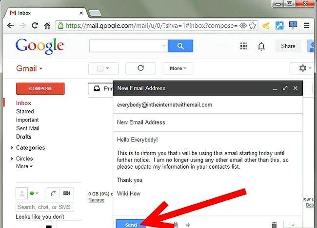 Prent getiteld Skakel E-pos adres na Gmail Stap 6